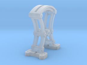 O Scale Harp Switch Stand - FUD in Smooth Fine Detail Plastic