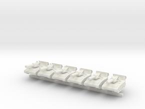 1/600 M110 in White Natural Versatile Plastic