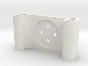 Cinetank Gimbal Firewall for Tarot T-2D V2 Gimbal in White Natural Versatile Plastic