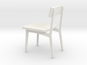 CHAIR 512 in White Natural Versatile Plastic