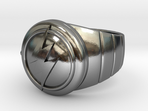 Barry Allen's Flash Ring in Polished Silver