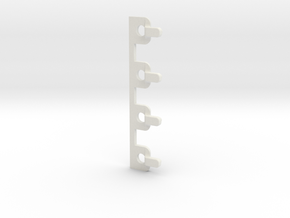 ERTL NEWEST RAM HITCH TO GREENLIGHT HITCH ADAPTER  in White Strong & Flexible