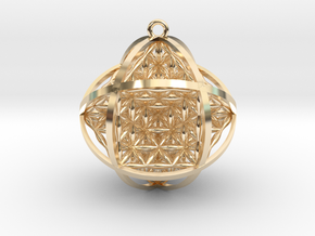 Ball Of Life Pendant in 14K Yellow Gold