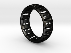 Bracelet classic 70 in Matte Black Steel
