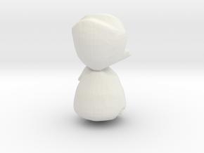Eta Car Homunuculus, 50mm version in White Natural Versatile Plastic