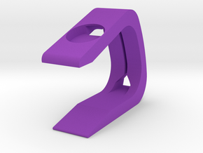 Apple Watch Stand in Purple Processed Versatile Plastic