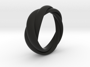 Torusring 19mm in Black Strong & Flexible