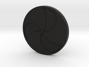 Viking Shield 2 in Black Natural Versatile Plastic