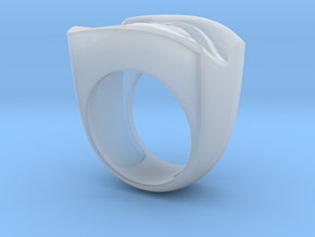 David's Eye Ring Hollow in Smoothest Fine Detail Plastic
