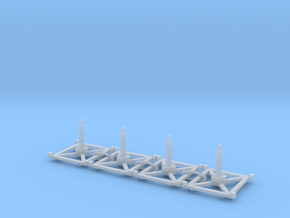 Stand x4 3.0 in Smooth Fine Detail Plastic