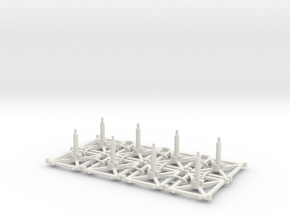 Stand x8 3.0 in White Natural Versatile Plastic