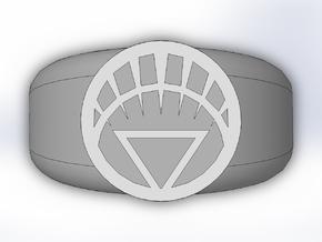 White Lantern Ring in Full Color Sandstone