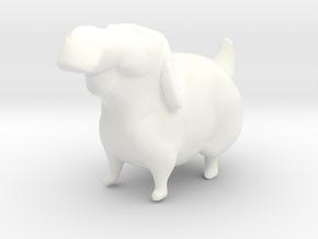 Labrador Retriever  in White Processed Versatile Plastic