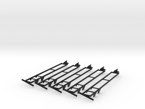 Rockin H SK 32' Header Trailer 5 pack in Black Strong & Flexible