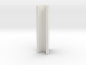 OD Sander V2, .3mm, 50mm Length in White Natural Versatile Plastic