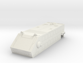 LoGH Imperial Carrier 1:3000 (Part 4/4 : Gunship)  in White Natural Versatile Plastic