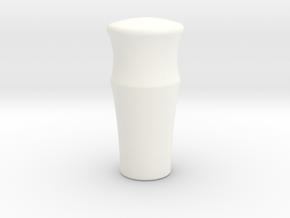 A90 Atlantic Gear Knob in White Processed Versatile Plastic