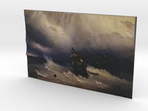 Sea (Ivan Aivazovsky) in Full Color Sandstone
