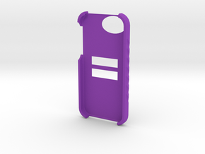 Equal Iphone 5 & 5S Case in Purple Strong & Flexible Polished