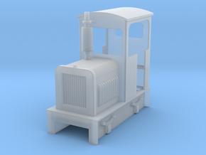 O9 diesel loco 1 in Smooth Fine Detail Plastic