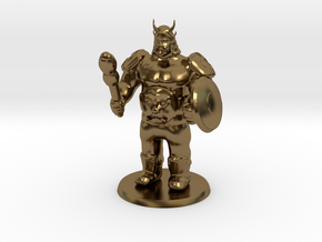 Ogre Boss in Polished Bronze