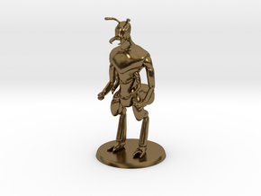 Ant Warrior (no weapon) in Polished Bronze