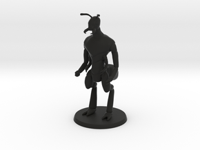 Ant Warrior (no weapon) in Black Natural Versatile Plastic