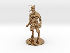 Ant Warrior (no weapon) in Polished Brass