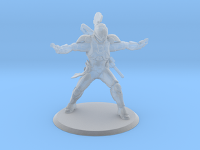 Defender Bubble Miniature in Smoothest Fine Detail Plastic