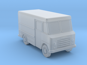 N-Scale 1960s Chevy Stepvan in Frosted Extreme Detail