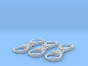 1/8 scale m2 Handcuffs in Frosted Ultra Detail