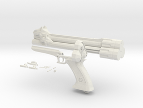 Vincent Cerberus Revolver in White Strong & Flexible