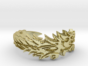 Ebonheart Pact Ring Size 12 in 18k Gold Plated Brass