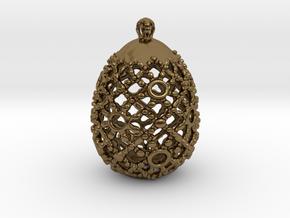 PA PFabergeV1fSE527xD24x30 in Polished Bronze