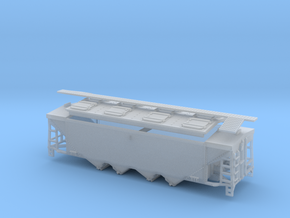 U10 / P9 N Scale Original Style Roof with Roofwalk in Frosted Ultra Detail
