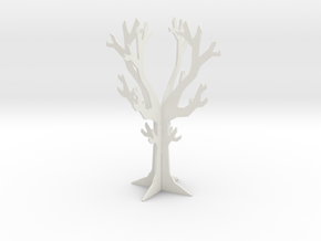 Desk top tree decoration in White Natural Versatile Plastic