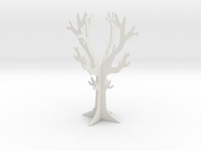 Desk top tree decoration in White Natural Versatile Plastic