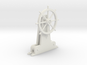 Steam Picket Wheel 1/27 in White Natural Versatile Plastic