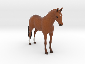 Custom Horse Figurine - Daniel in Full Color Sandstone