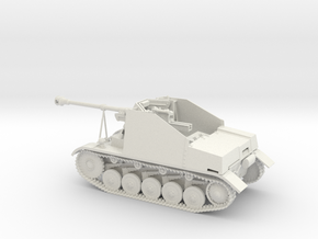 Marder II Sd.Kfz.131  1:48th 28mm wargames in White Strong & Flexible