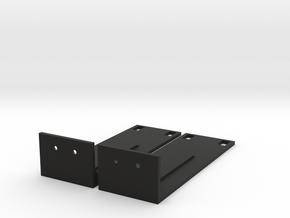 SRX100 JUNIPER BRACKET in Black Strong & Flexible