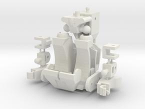 Customatron - Filletron in White Strong & Flexible