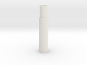 Support Rod (Round) - 3Dponics Drip Hydroponics in White Natural Versatile Plastic