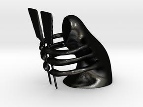 The Spatulist in Matte Black Steel