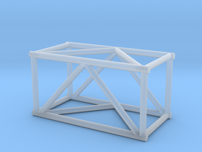 "2'6"" 16""sq Box Truss 1:48 in Smooth Fine Detail Plastic"