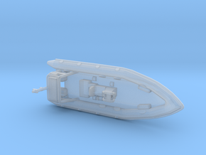 Rigid Inflatable Boat (1:148) in Smoothest Fine Detail Plastic