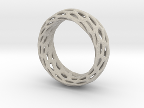 Trous Ring Size 6 in Natural Sandstone