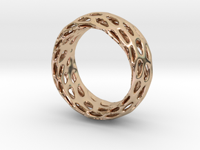 Trous Ring Size 4.5 in 14k Rose Gold