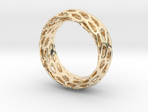 Trous Ring Size 7.5 in 14K Yellow Gold