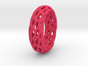 Trous Ring in Pink Processed Versatile Plastic